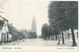 Hoogstraten - Hoogstraeten - De Markt - Eigendom L.-V. Hoof-Roelans - 1913 - Hoogstraten