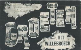 Willebroek - Groeten Uit Willebroeck - Edit Thomas Baggerman - 1905 - Willebroek