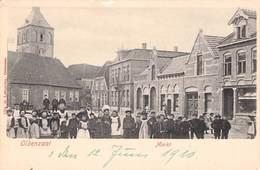 OLDENZAAL - MARKT 1910 / Ak 81 - Hengelo (Ov)