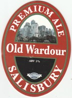 TISBURY BREWERY (TISBURY, ENGLAND) - OLD WARDOUR PREMIUM ALE - PUMP CLIP FRONT - Schilder