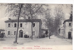 Tarn - Lombers - La Poste Et Route De Gaillac - Autres Communes