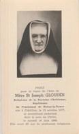 Souvenir Mortuaire : Mère Joseph Glouden , Né à Châtillon En 1877 Et Décédée En 1960 - Décès