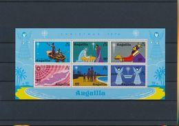 Anguilla 210a Christmas Nativity 1974 MNH Souvenir Sheet Block A04s - Anguilla (1968-...)