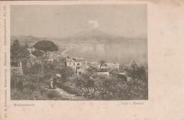 4811183Golf V Neapel. Intorno Al 1900 (see Corners) - Napoli