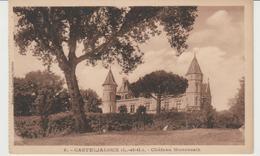 CPA CASTELJALOUX (47) CHÂTEAU MONCASSIN - Casteljaloux