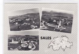 Sâles (Gruyère), 3 Vues - FR Fribourg