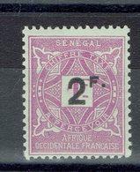 Sénégal - Taxe N° 20 - X - Trace Propre - - Postage Due