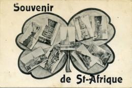 Souvenir De Saint-Affrique.Tréfle à 4 Feuilles (Aveyron). - Saint Affrique