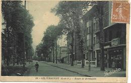 78 - LE VESINET - ROUTE DE MONTESSON - EDIT.PHOTO EDITION CARTE PAS COURANTE - Le Vésinet