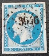 382 - 14 À -des Bureaux Supplémentaires PC 3946 Randonnai Orne 59 - 1853-1860 Napoleon III