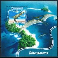Bloc Sheet Dinosaures Dinosaurs Neuf MNH ** Guine Guinee Guinea Bissau 2014 - Briefmarken