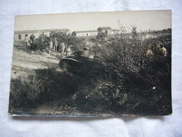 Carte Photo 1923 Tank De La 502 ème Cie De Béziers Camp De Sauge En Gironde - Maniobras
