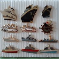 BATEAUX 12 PIN'S - Barcos