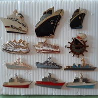BATEAUX 12 PIN'S - Boats