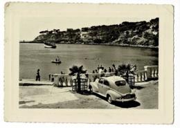 203 Peugeot, Toit Ouvrant - Carry (Bouche Du Rhone) La Plage Et La Pointe Du Moulin, Animation - Pas Circulé - Turismo
