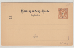Austria Slovenia Postal Stationery Postcard Dopisnica Unused B200115 - Slowenien