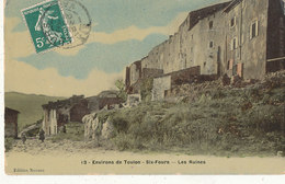 83 // Environs De Toulon -  SIX FOURS    Les Ruines  Edit Novaro  ** - Six-Fours-les-Plages