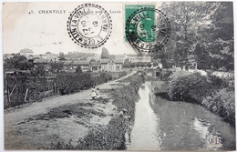 CANAL PRIS VERS LE LAVOIR - CHANTILLY - Chantilly
