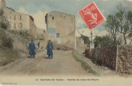 83 // Environs De Toulon - Entrée Du Vieux SIX FOURS      Edit Novaro  ** - Six-Fours-les-Plages