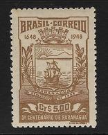 BRASIL. Yvert Nº 470 Nuevo Y Defectuoso - Brazilië