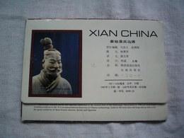 Carnet De 8 CPA De Chine La Dynastie Qin Soldats Et Chevaux En Terre Cuite - Chine
