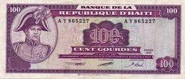 HAITI  100 GOURDES 1991 P-258  XF - Haiti