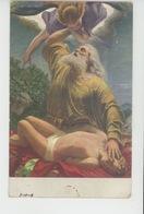"""Nus - TABLEAUX - RELIGION - """"Abraham Offre Isaac En Sacrifice """" Par G.R. REYTER - Edit. LAPINA - Tableaux"""