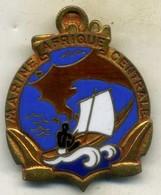 Insigne Marine AFRIQUE CENTRALE___courtois - Navy