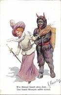 1911 - KRAMPUS , Gute Zustand, 2 Scan - Ohne Zuordnung