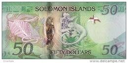 SOLOMON ISLANDS P. 35 50 D 2013 UNC - Isola Salomon