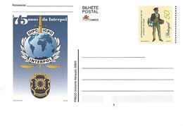 PORTUGAL -  PAP -  75 Years Of Interpol - Zonder Classificatie