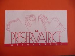 ACCIDENTS / VIE /INCENDIE / VOL /  ASSURANCE La Préservatrice - Bank En Verzekering