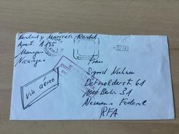SCH3235 Nicaragua 1986 Brief Von Managua - Nicaragua