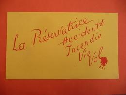 ACCIDENTS / INCENDIE / VIE  / VOL /  ASSURANCE La Préservatrice - Bank En Verzekering