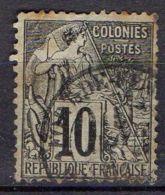 COLONIE/MARTINIQUE ( POSTE ) : Y&T N° 50 TYPE  ALPHEE  DUBOIS   TIMBRE  BIEN  OBLITERE , A  VOIR . - Martinique (1886-1947)