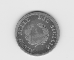 Rare 1 Lire Règne Des Deux Siciles 1813 Joachim Napoléon  TB/TTB - Regional Coins