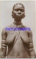 128606 SOUTH AFRICA KwaZulu-Natal COSTUMES NATIVE ZULU WOMAN SEMI NUDE POSTAL POSTCARD - Sin Clasificación