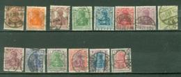 Allemagne Michel 140/153 Ob TB Geprüft Infla - Duitsland