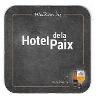 165a Brij. Vander Ghinste Bockor Bellegem Omer  Hotel De La Paix Vlek Op - Portavasos