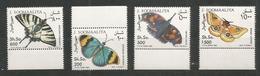 SOMALIA - MNH - Animals - Insects - Butterflies - Mariposas