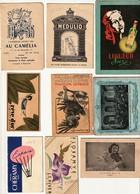 12 Mini Calendriers Publicitaires, De 1916 à 1955. - Calendriers