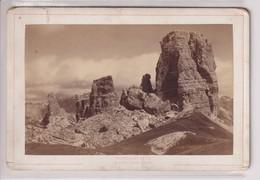 TIROL TIROL AMPEZZO CINQUE TORRI  ALOIS BEER KLAGENFURT 16*10CM CABINET PHOTOGRAPHS - Antiche (ante 1900)