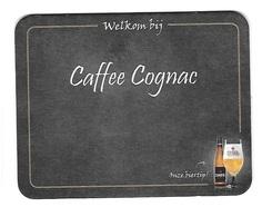 166a Brij. Vander Ghinste Bockor Bellegem Omer  Caffee Cognac - Portavasos