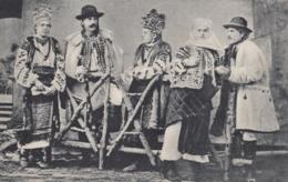 AK (Ukraine) Hochzeit Von Huzulen Der Bukowina 1915 - Ukraine
