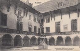 AK - Polen - KRAKOW (Krakau) - Innenhof Der Bibliothek Mit Kopernikus Denkmal 1914 - Polen