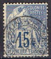 COLONIE/MARTINIQUE ( POSTE ) : Y&T N° 53 TYPE  ALPHEE  DUBOIS   TIMBRE  BIEN  OBLITERE , A  VOIR . - Martinique (1886-1947)