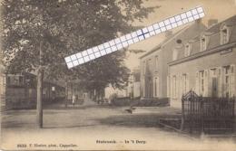 "STABROECK-STABROEK""IN HET DORP -STOOMTRAM-TRAM A VAPEUR""HOELEN 3533 UITGIFTE 1907 - Stabroek"