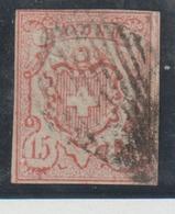 Rayon III - 1843-1852 Kantonalmarken Und Bundesmarken