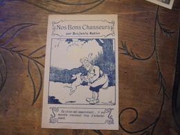 """B Rabier """" Nos Bons Chasseurs """" Publicité Extrait Picard Remplace Le Vin Pharmacie Faubourg Poissonniere Paris - Rabier, B."""