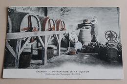 épernay - Préparationde La Liqueur - Epernay